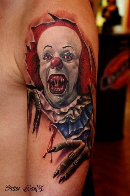 Another dreadful Pennywise by Ivan Stankov-Hanz.