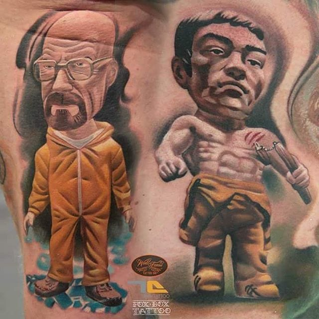 Breaking Bad tattoo by Denis Torikashvili