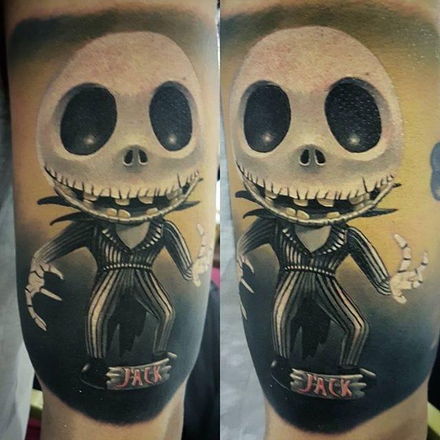 Jack tattoo by Denis Torikashvili
