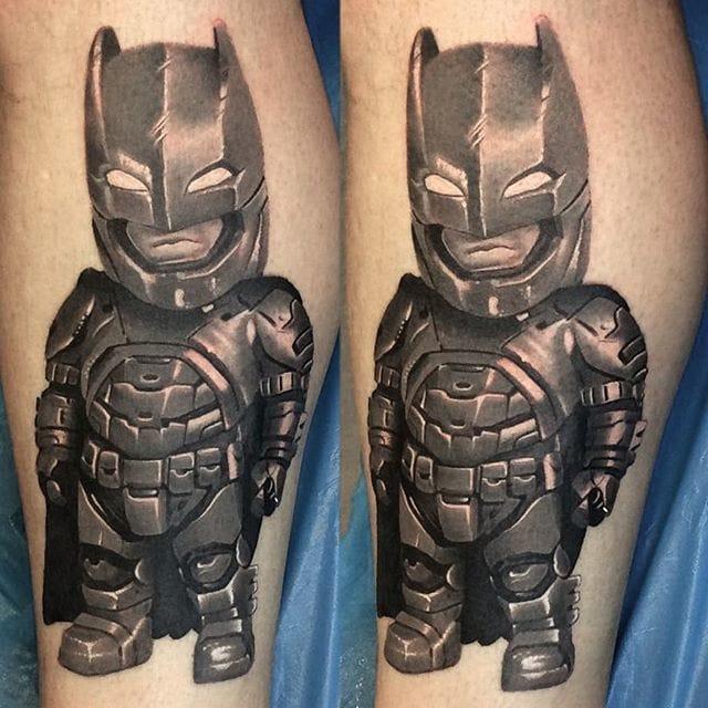 Batman tattoo by Denis Torikashvili