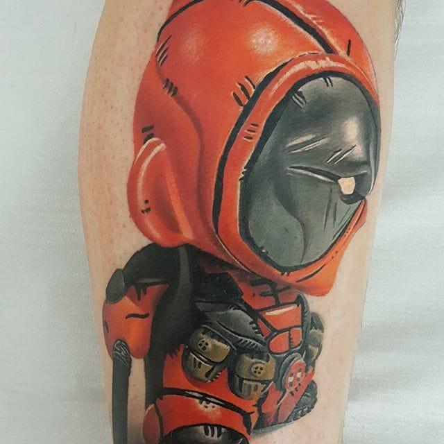 Tattoo by Denis Torikashvili