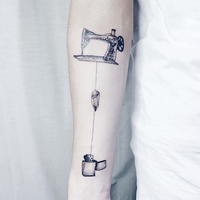 Sewing your lighter, by Ma Ga Ga