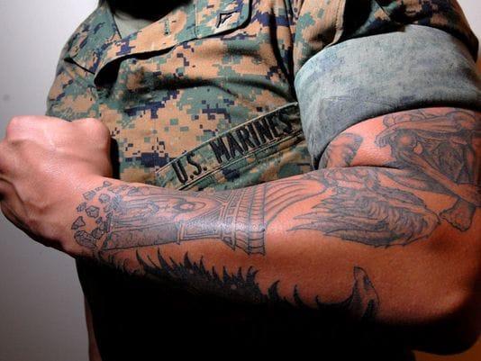 Marine Commander Explains Tattoo Policy Change