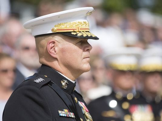 General Robert Neller about tattoo policy change