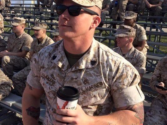 Inked Marine #marines #marinetattoopolicy #military