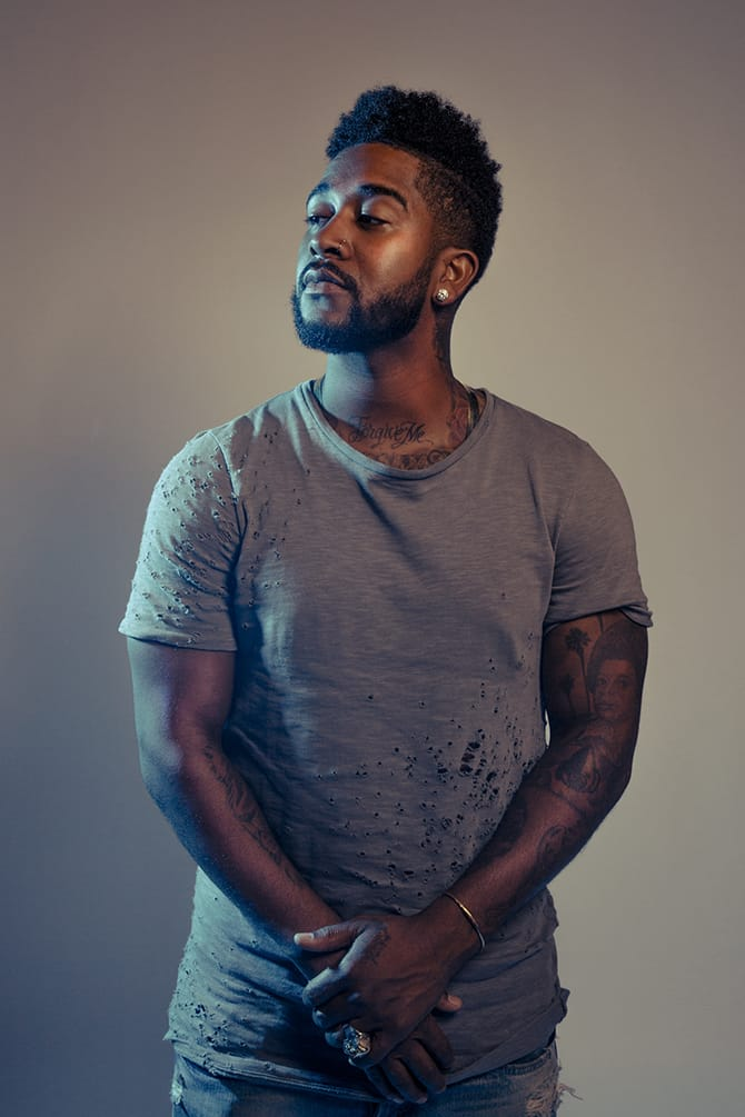R&B Artist Omarion Gives An Insight On His Tattoos
