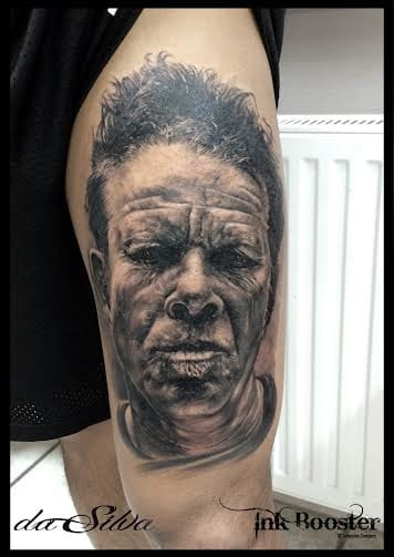 Detalhes! #pretoecinza #black&grey #realismo #talentogringo #alemanha #tattoodo #brasil #brazil #portugues #portuguese