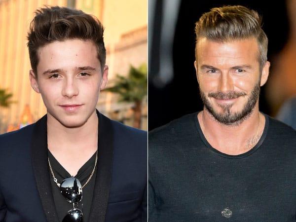 Wait, Did David Beckham's 16 Year Old Son Brooklyn Get A Tattoo?!