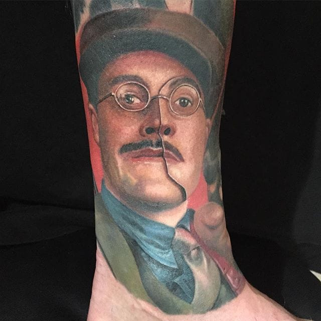 Tattoo by Carlos Rojas #richardharrow #boardwalkempire #portrait #carlosrojas