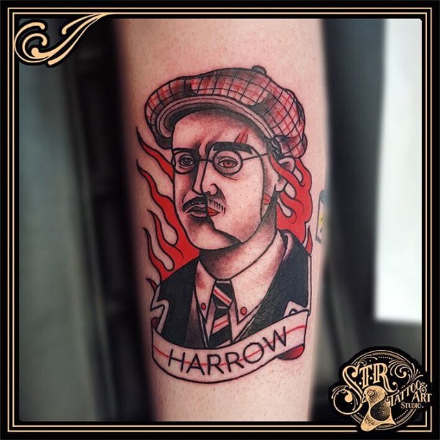 Tattoo by Gonney Toons #richardharrow #boardwalkempire #traditional #gonneytoons