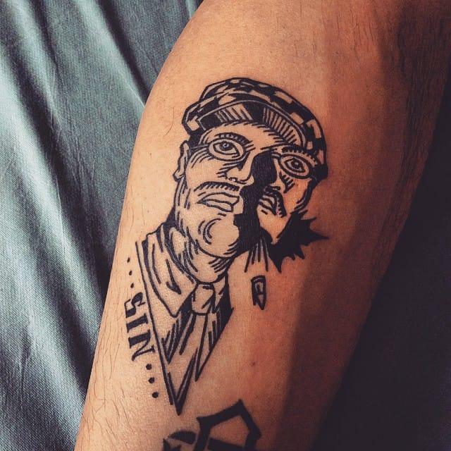 Tattoo by Jarriane Tattooer #richardharrow #boardwalkempire #jarrianetattooer