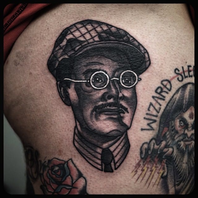 Tattoo by Philip Yarnell #richardharrow #boardwalkempire #traditional #philipyarnell
