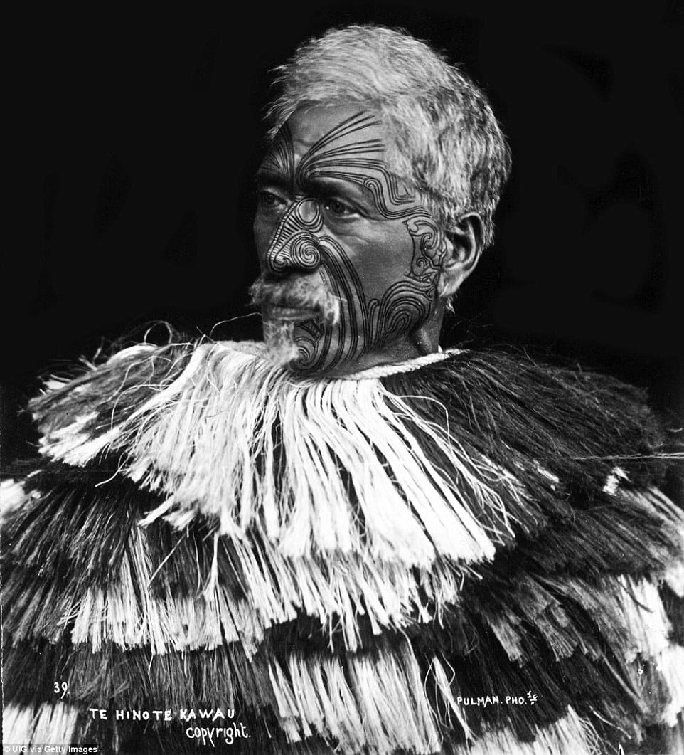 Ta Moko: Traditional Maori Face Tattoos That Tell A Life Story