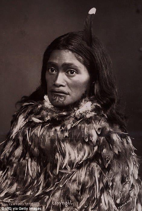 Traditional Female Ta Moko #maori #tamoko #polynesiantattoos