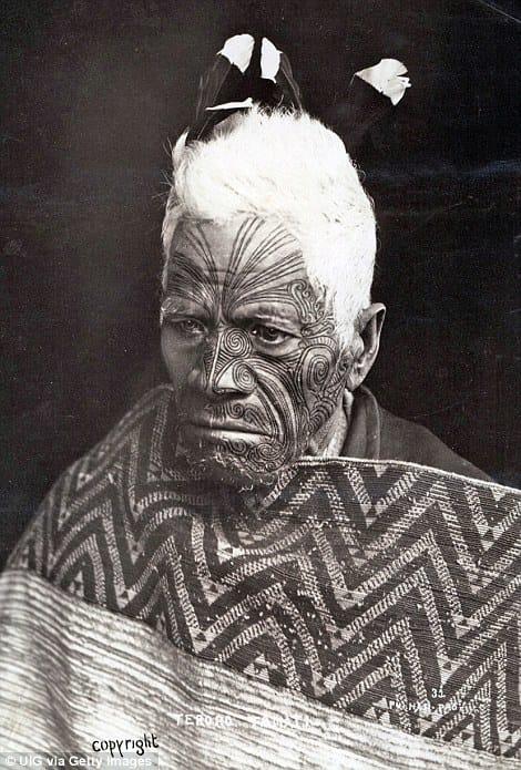 Traditional Male Ta Moko #maori #tamoko #polynesiantattoos