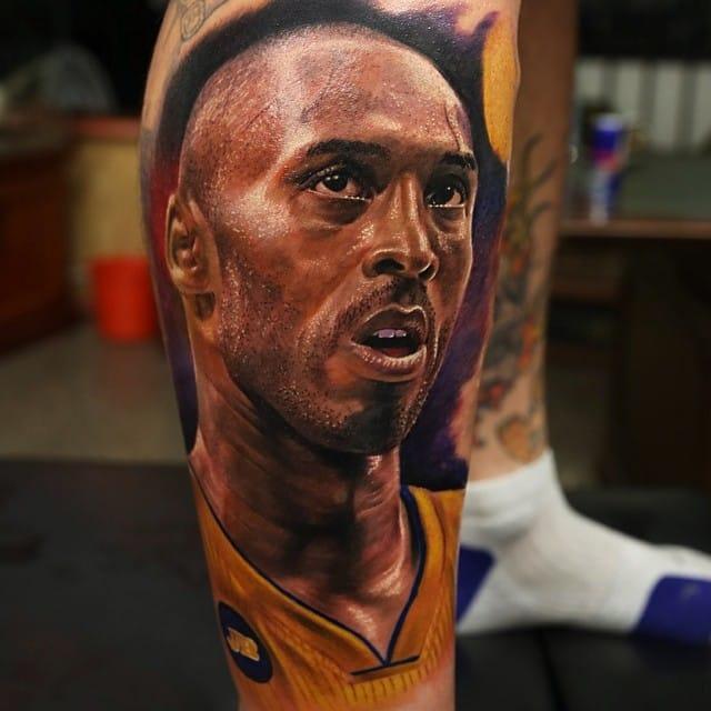 Kobe! Artist unknown. #NBA #basketball #KobeBryant