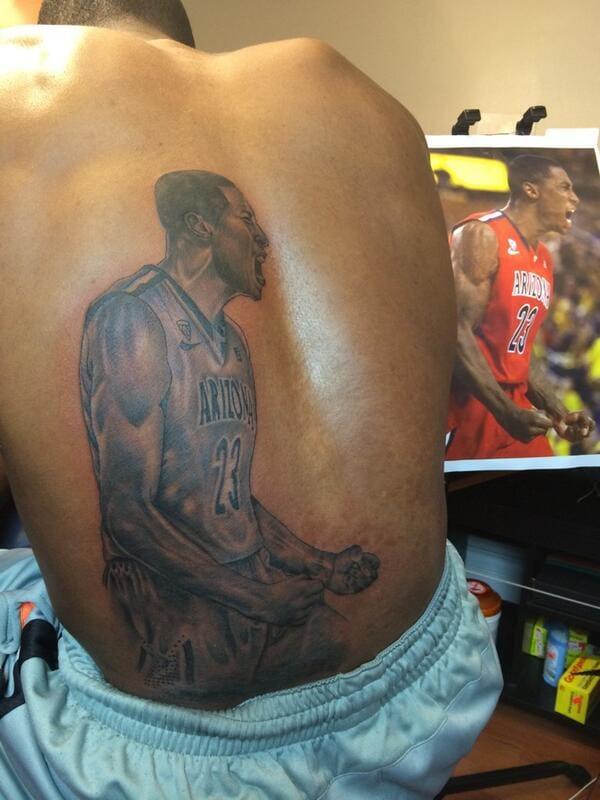 - Rondae Hollis-Jefferson; artist, unknown #NBA #basketball