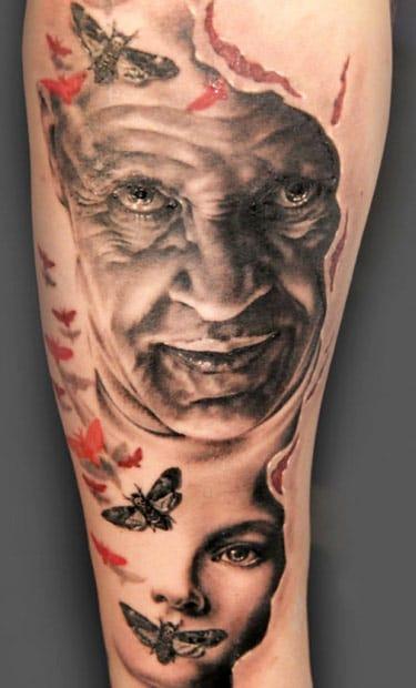 Lindíssima tatuagem de Andy Engel #realismo #realismocolorido #atoresdehollywood #atores #tatuagensdefilmes #nerd #brasil #brazil #portugues #portuguese