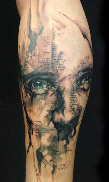 Florian Karg #tatuagemabstrata #colorida #abstrata #brasil #brazil #portugues #portuguese