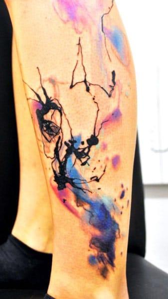 Lukas Musil #tatuagemabstrata #colorida #abstrata #brasil #brazil #portugues #portuguese