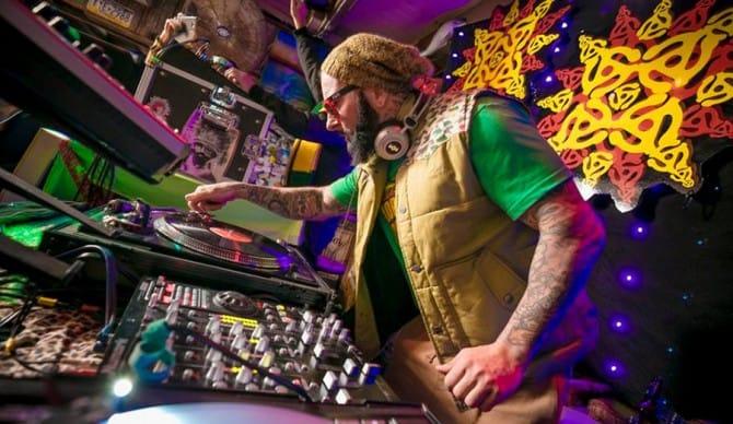 Mark Longenecker: Surfer, DJ & Tattooer