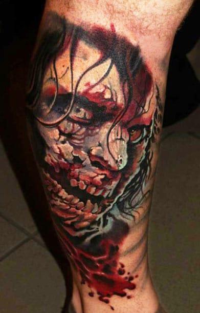 Geza Ottlecz #zumbis #tatuagemdezumbi #zombietattoo #nerd #thewalkingdead #brasil #brazil #portugues #portuguese