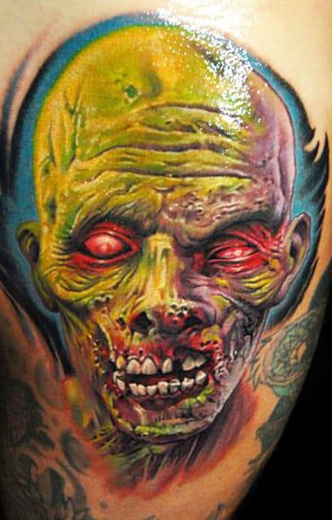 James Tattooart #zumbis #tatuagemdezumbi #zombietattoo #nerd #thewalkingdead #brasil #brazil #portugues #portuguese