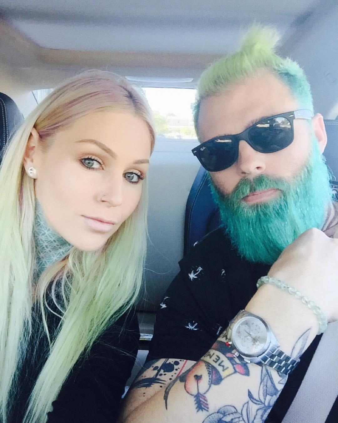 Leanne & Husband, twinning.