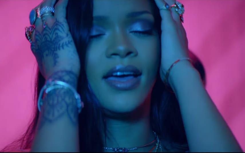 Still from Rihanna - Work ft. Drake