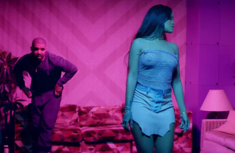 Still from Rihanna - Work ft. Drake. DAYYUM riri, killin it!