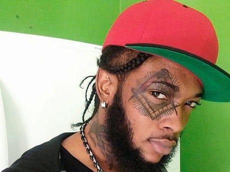 Radijah's Striking Eye Tattoo #Radijahtattoo