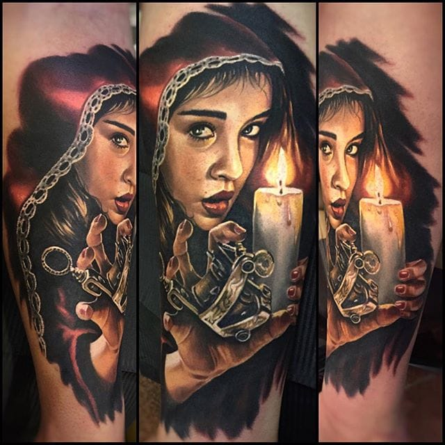 Incredible Tattoo Realism By Randy Engelhard