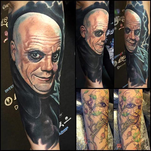 Tattoo realism #tattoorealism #colorportrait #colorrealism #randyengelhard