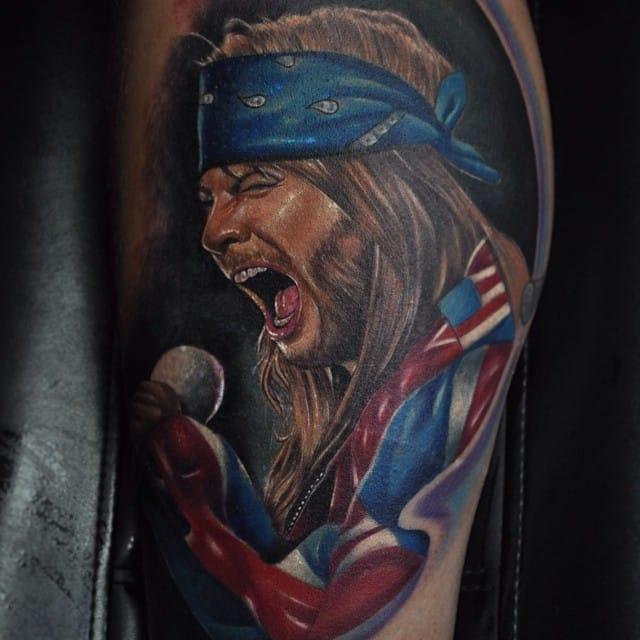 89a4715a5683a 10 Guns N'Roses Tattoos For All Hard Rock Enthusiasts | Tattoodo