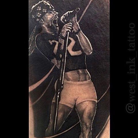 Axl Rose Tattoo by Walter Moroni #gunsnroses #axlrose #portrait #waltermoroni