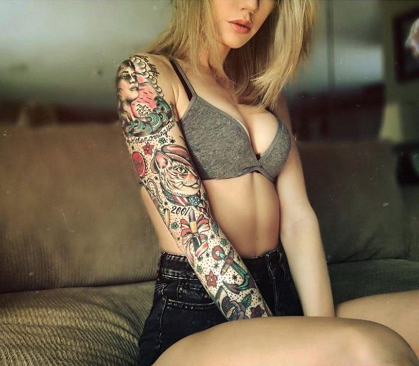 (@teapartyx) #TattoodoBabe