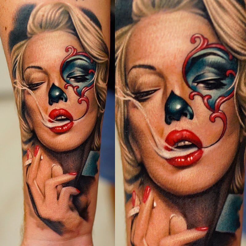 Khan's Unbelievably Realistic Tattoo Portraits