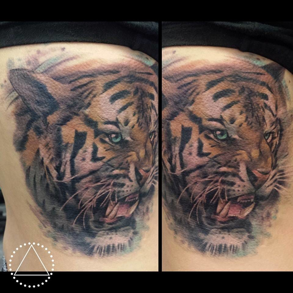 A stunning example of a common tattoo that istoo often done poorly (credit: Ink By Saga)
