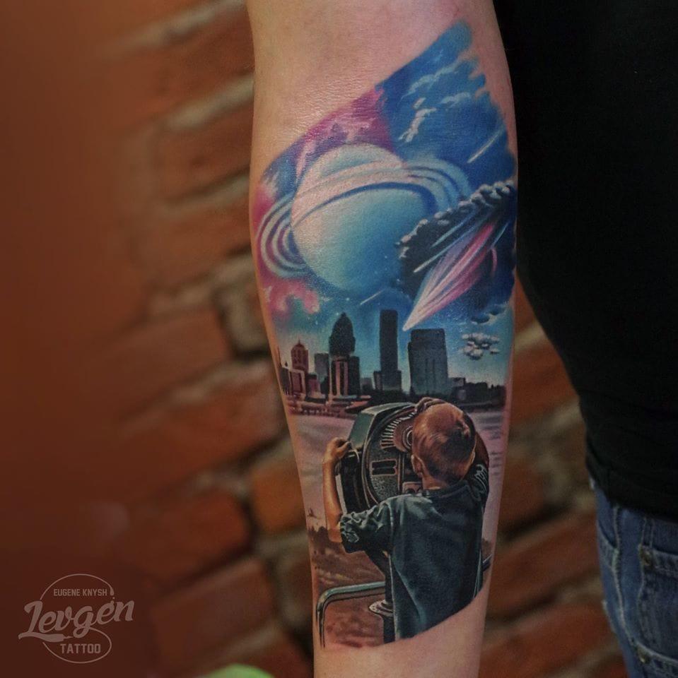 Realistic tattoo #realistictattoos #Levgen #EugeneKnysh