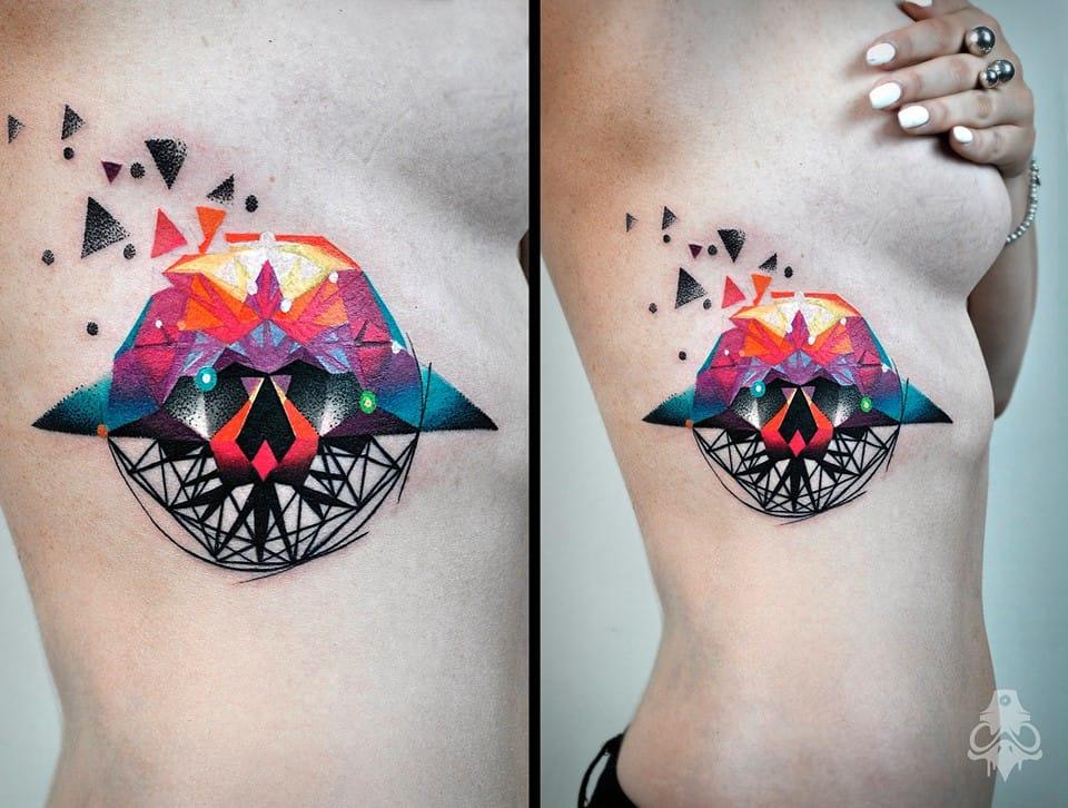 Next Level Watercolor Tattoos Carlos BreakOne