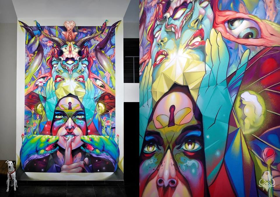 Art by Carlos BreakOne #art #graphictattoos #BreakOne