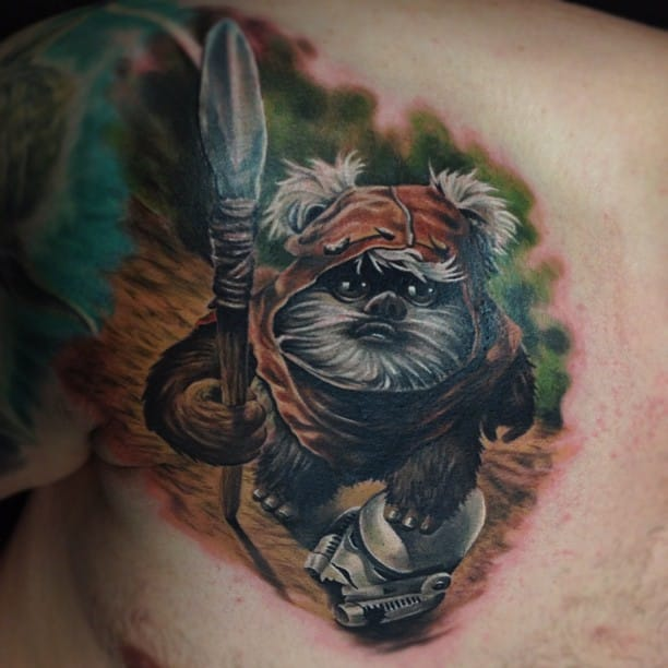 11 Charming Ewok Tattoos