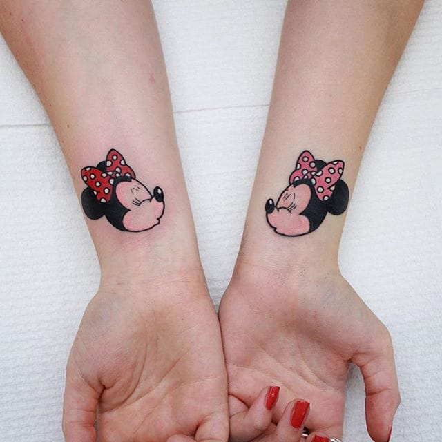 15 Cute And Colorful Girly Tattoos By Sasha Mezoghlian