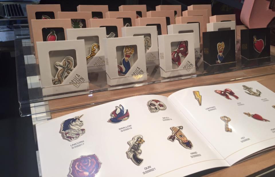 Delicatezzen's luxury stickers album #luxurystickers #tattooinspired #italianbrand #Delicatezzen