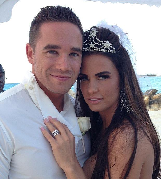 Katie Price and her husband Kieran via Reuters