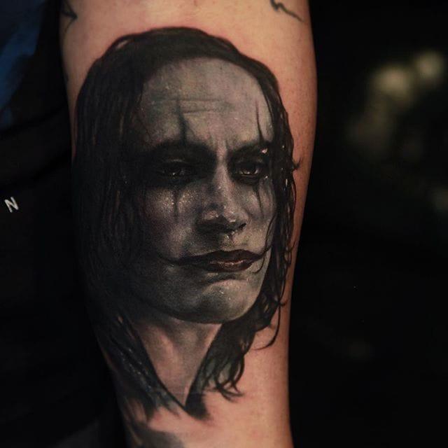The Crow tattoo (@richiebon) #RichPineda