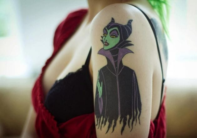 Disney's Wicked Witches And Other Villainous Tattoos