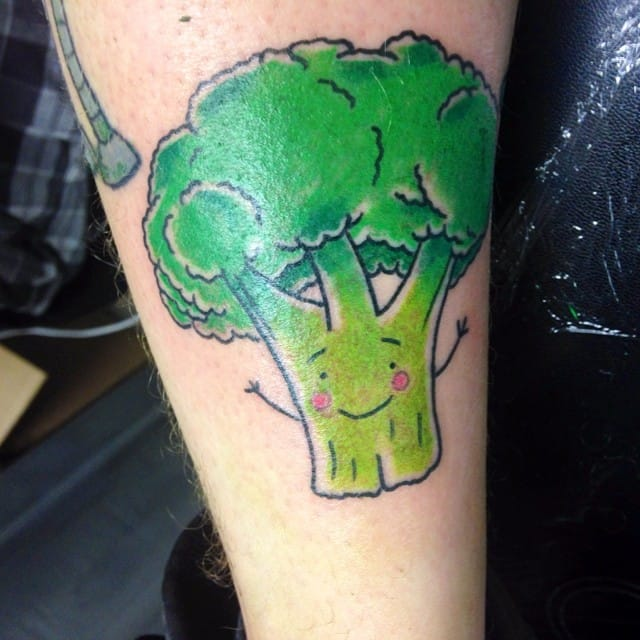 Get Heathy With These 13 Broccoli Tattoos