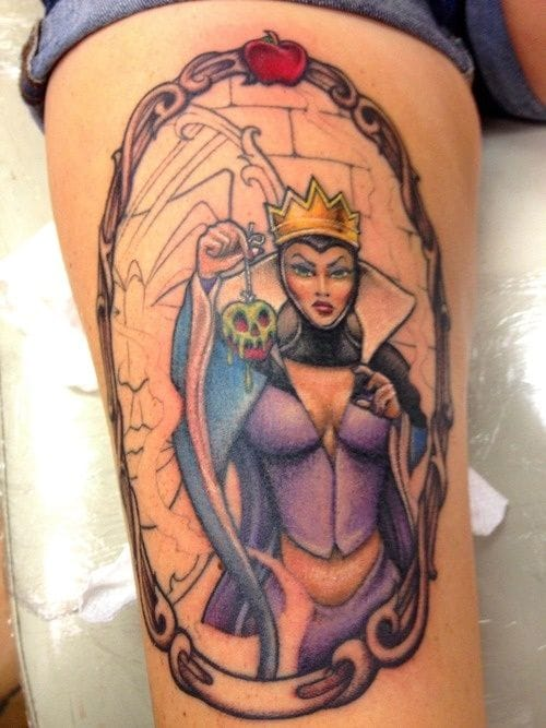 The Queen - Snow White by Jim @ RedSky Tattoo.