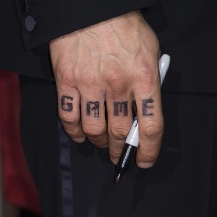 Knuckle *game* strong. See what I did there? #JamesFranco